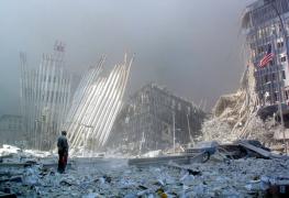 9-11-flag-at-ground-zero