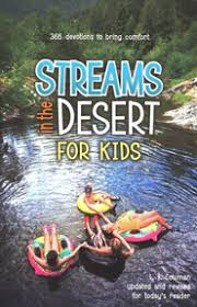 Streams in the Desert for Kids – Determined