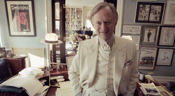 No wonder he never got the Nobel prize: Tom Wolfe made the left look stupid