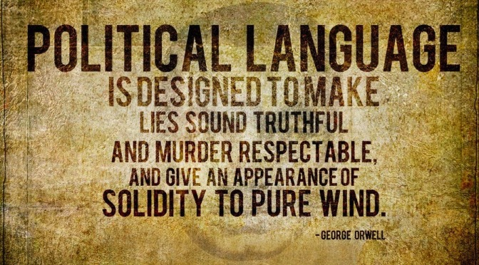 politicians = Doublespeak